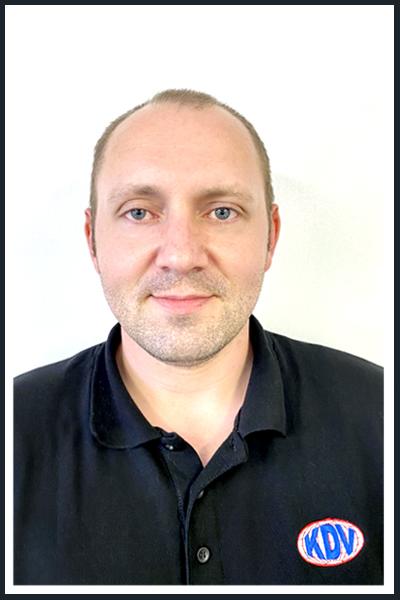 Daniel Carr - KDV UK Gen Manager